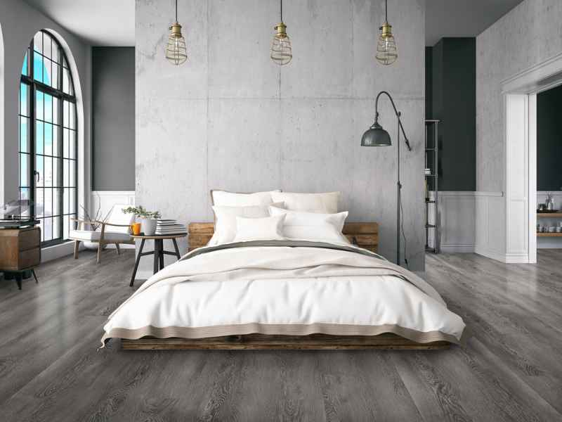 Laminate flooring Sky gray