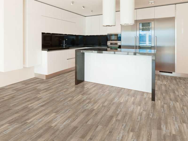 SPC flooring Macchiato stripe