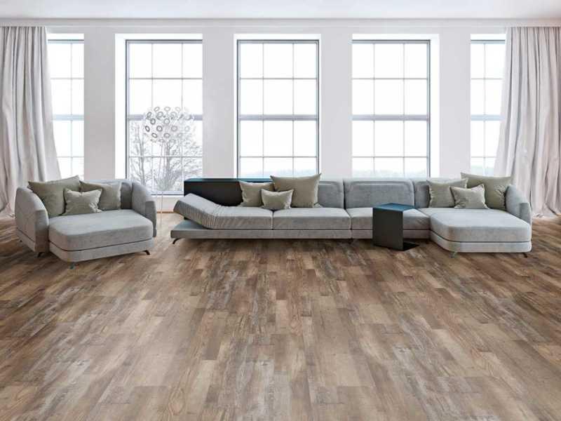 SPC flooring Mocca stripe