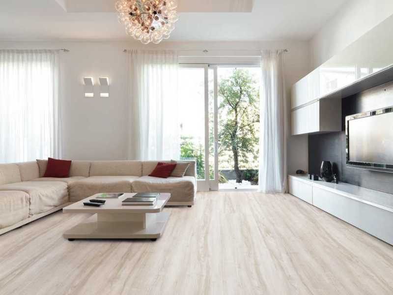 SPC flooring White oak polar