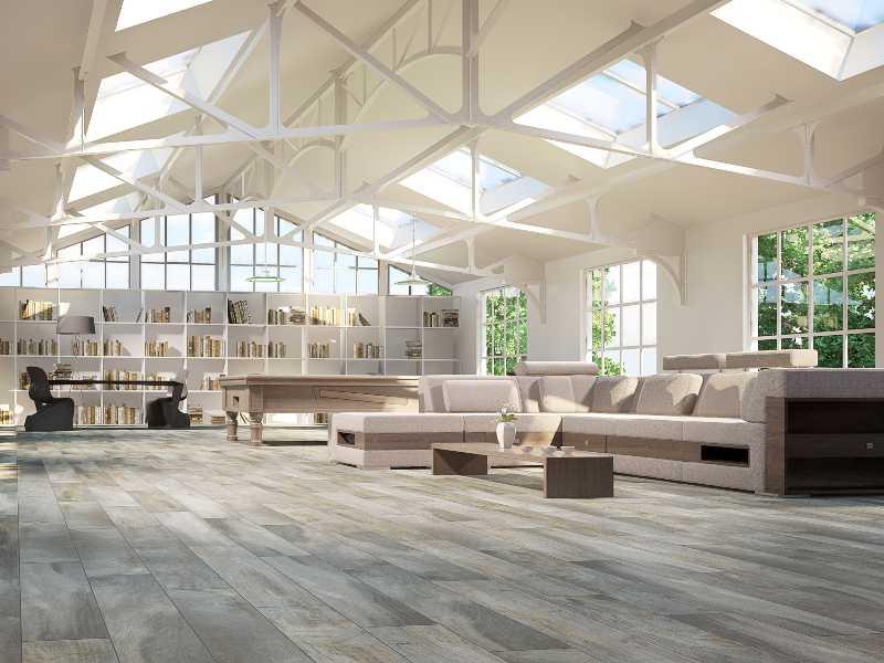 Livid tile flooring