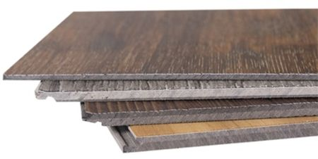 Vinyl flooring wear layer