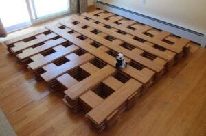 Vinyl flooring installation